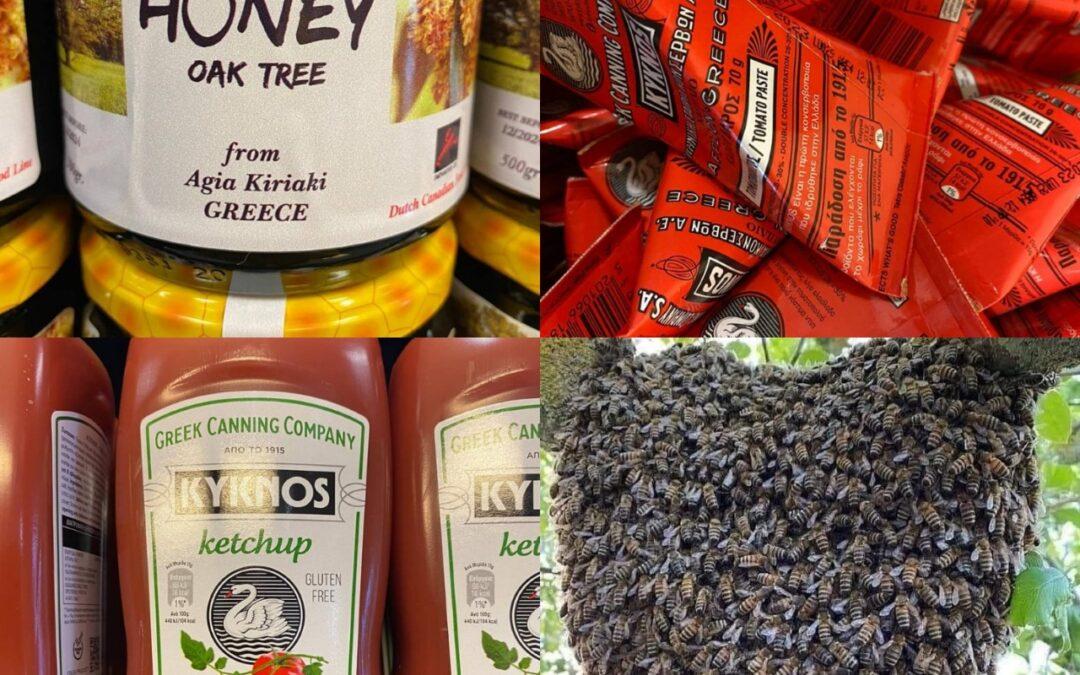 Er zijn weer Griekse producten !